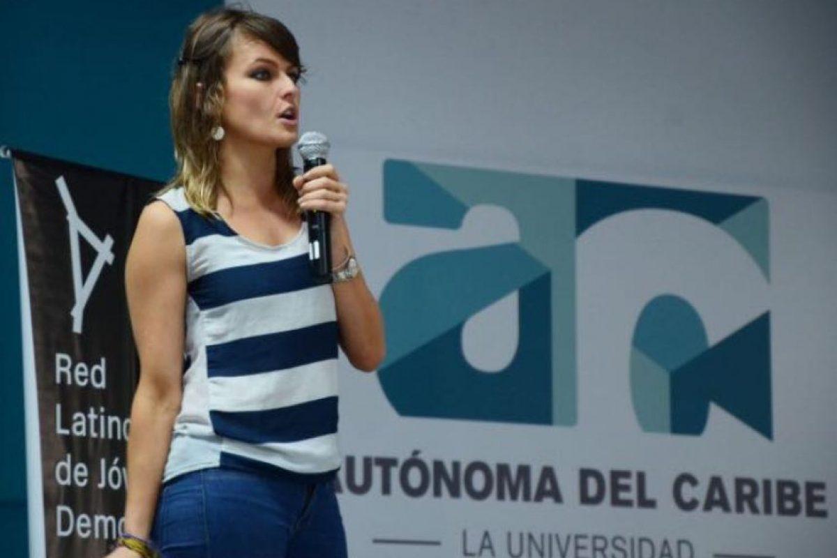 Ha realizado giras en América Latina hablando del populismo en la región Foto:Facebook.com/GloriaAlvarez