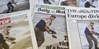 ¿Es un montaje la foto del niño sirio ahogado en Europa?