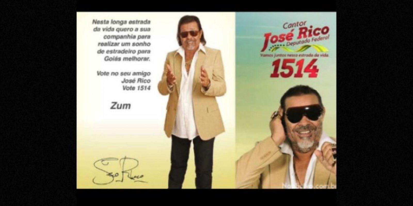 Los peculiares candidatos de Brasil Foto:Naosalvo.com.br