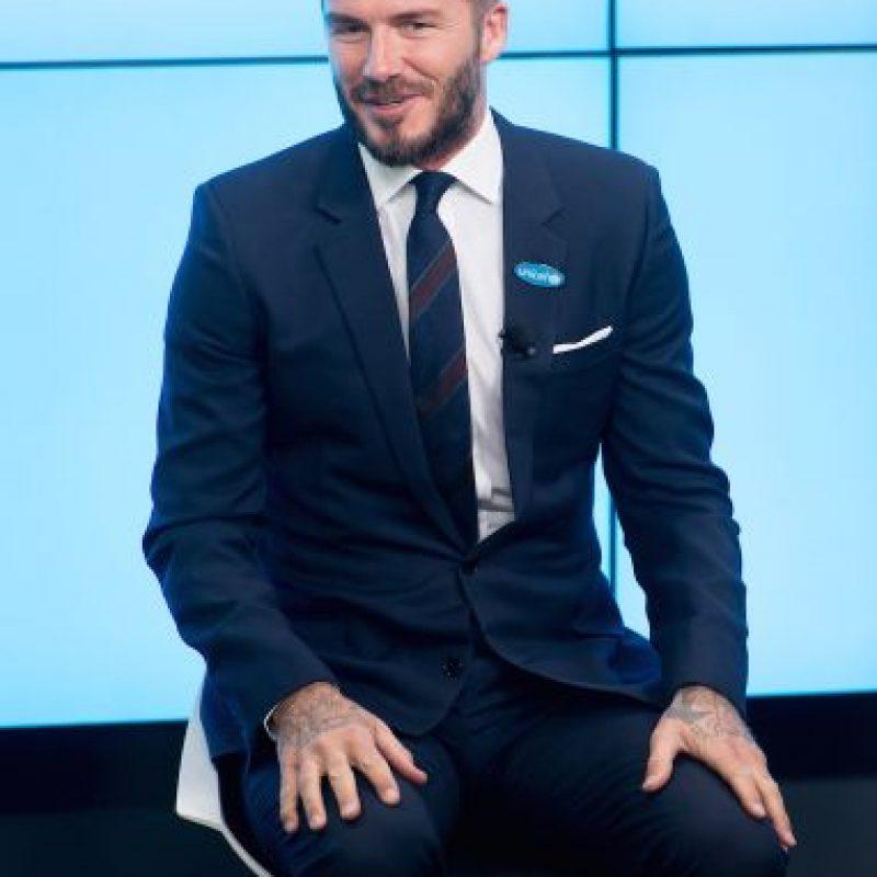 Pero el esposo de Victoria Beckham no quiere convertirse en uno de esos deportistas de élite que fracasa frente a las cámaras de cine. Foto:Getty Images