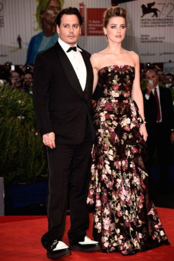 La pareja asistió al Festival de Cine en Venecia Foto:Getty Images
