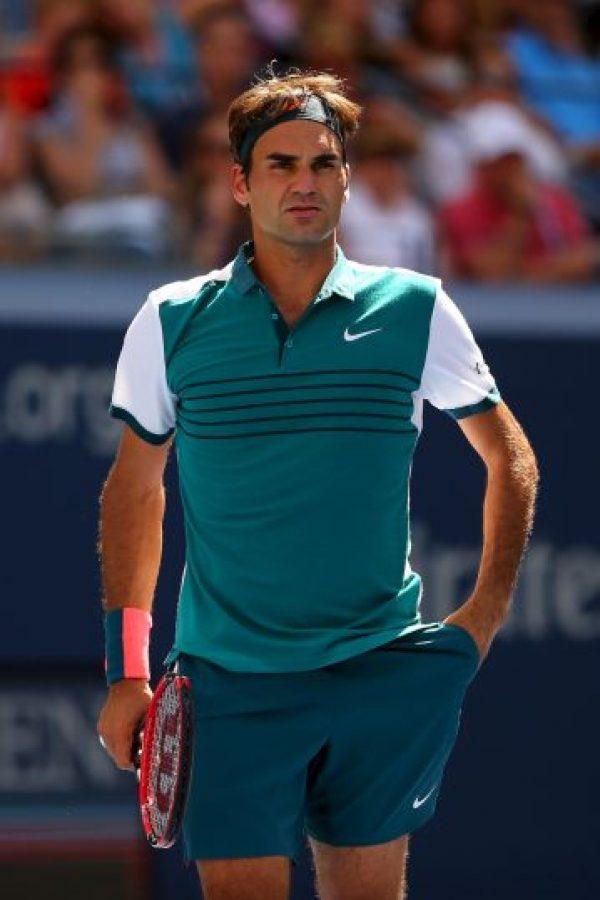 El suizo luce sobrio, pero elegante con esta camiseta verde que ha utilizado en dos juegos del US Open. Foto:Getty Images