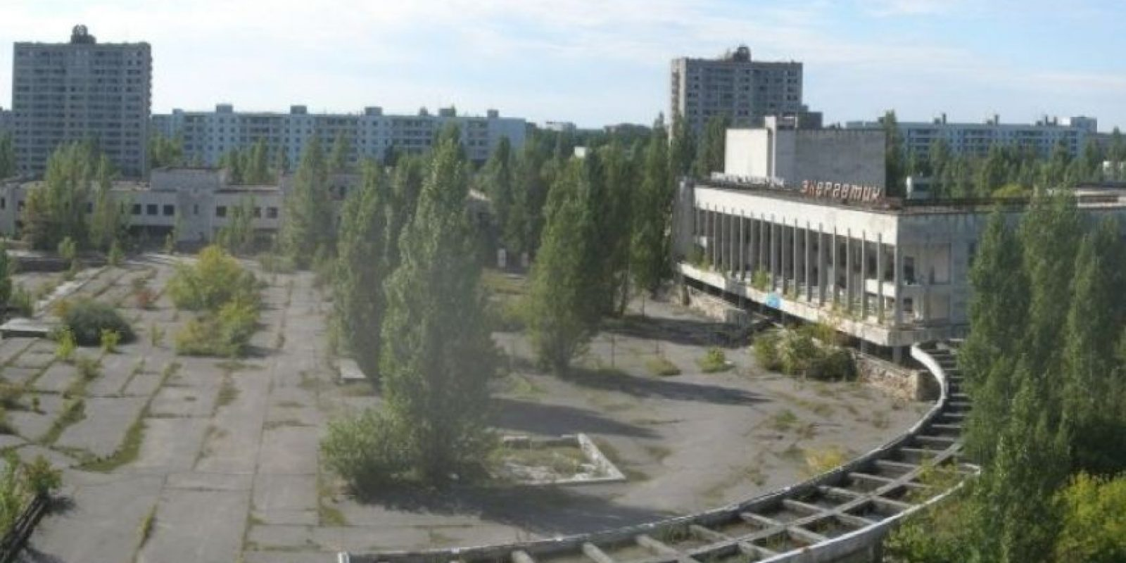 3. Prípiat, la ciudad fantasma de Ucrania Foto:Vía Youtube