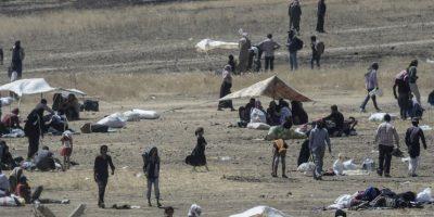 Sin embargo, se ha negado a enviar a sus tropas a tierra. Foto:AFP