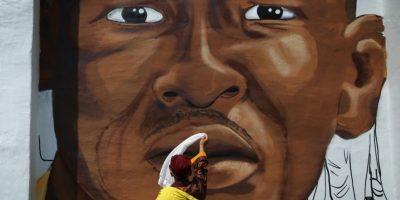Freddie Gray falleció por una lesión en la columna vertebral. Foto:Getty Images