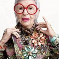 Iris Apfel, ícono de moda. Foto:vía Tumblr