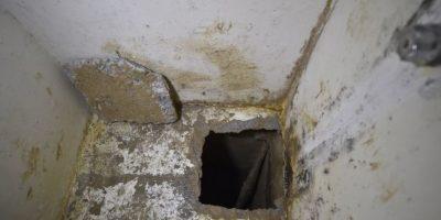 Se escapó por un túnel que comenzaba en el baño de su celda Foto:AFP