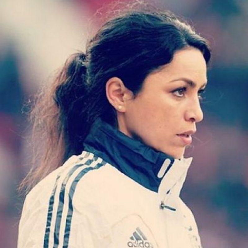 """Pero aunque lleva años trabajando con el conjunto """"blue"""", el equipo de sus amores es el Real Madrid. Foto:Vía instagram.com/explore/tags/evacarneiro"""