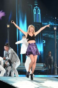 Swift colaboró como la productora ejecutiva de esta presentación. Foto:Getty Images