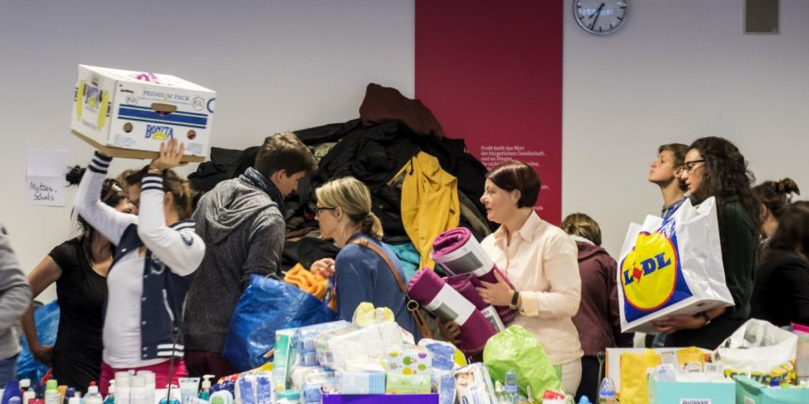 Para el siguiente año Alemania planea únicamente recibir 500 mil refugiados. Foto:AP