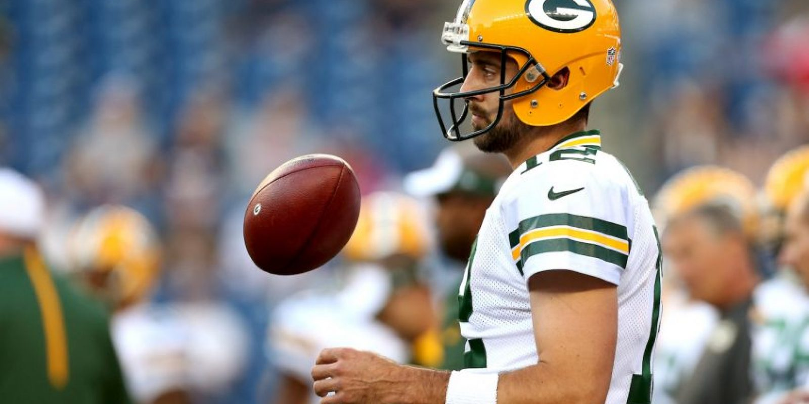 8. Aaron Rodgers Foto: Getty Images