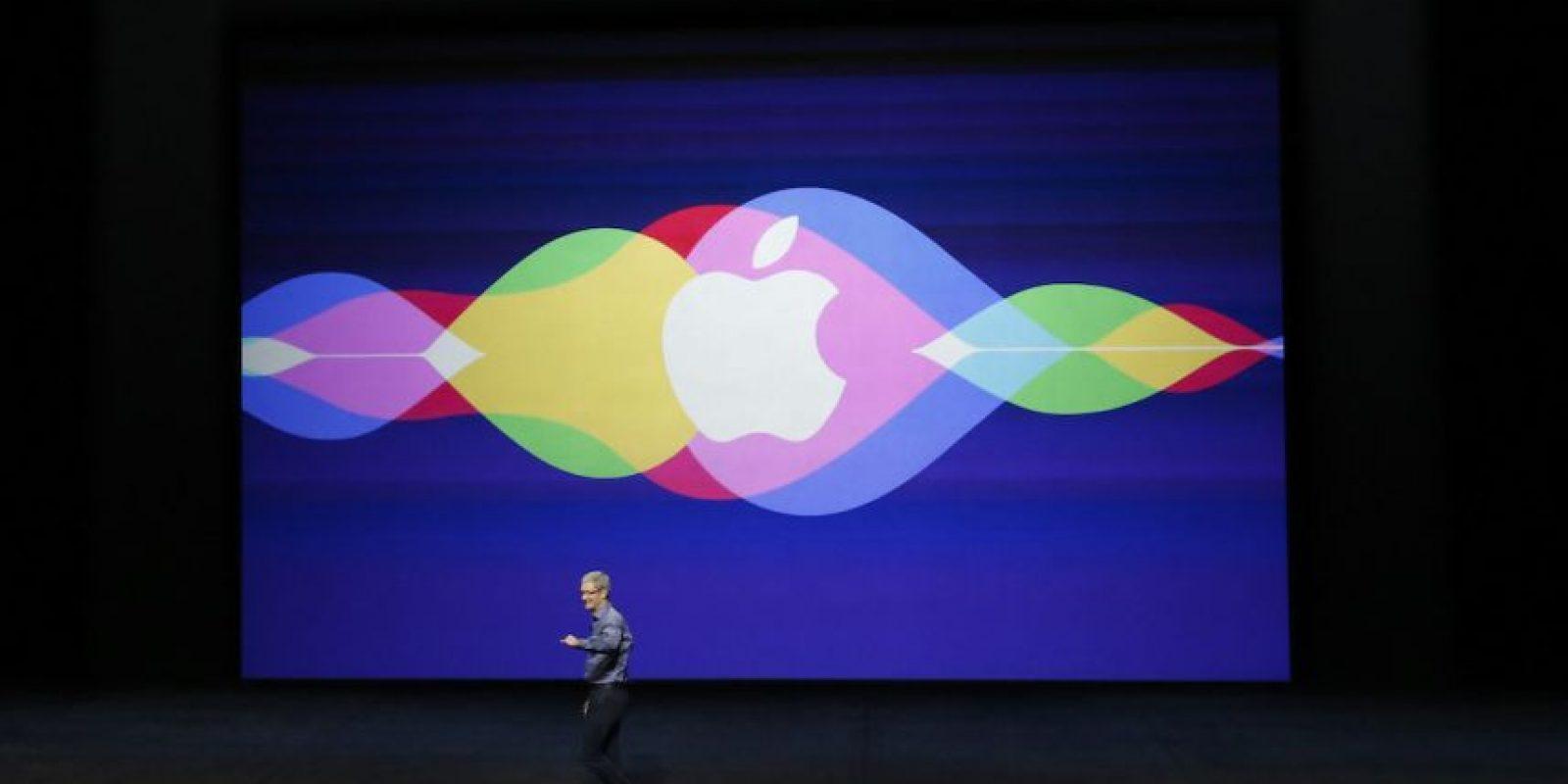 Siri fue protagonista en todos los lanzamientos. Foto:Getty Images