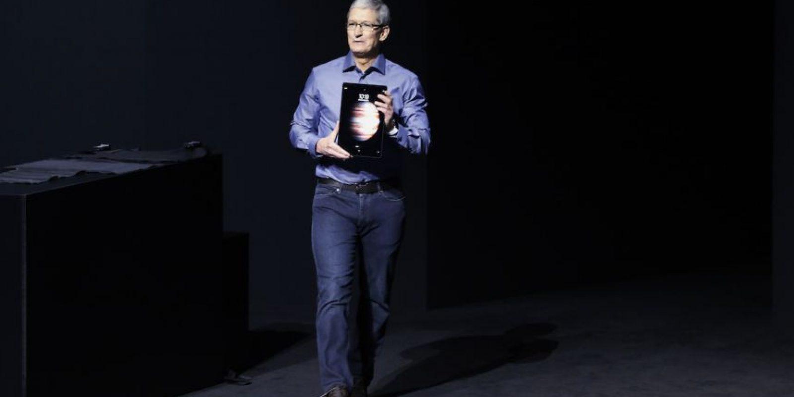 Esta es la nueva iPad Pro. Foto:Getty Images