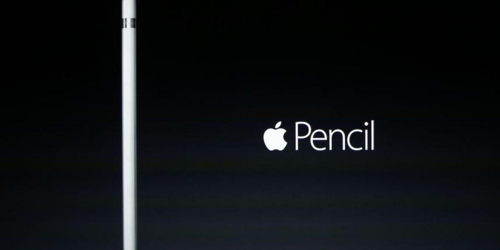 También se presentó el Apple Pencil. Foto:Getty Images