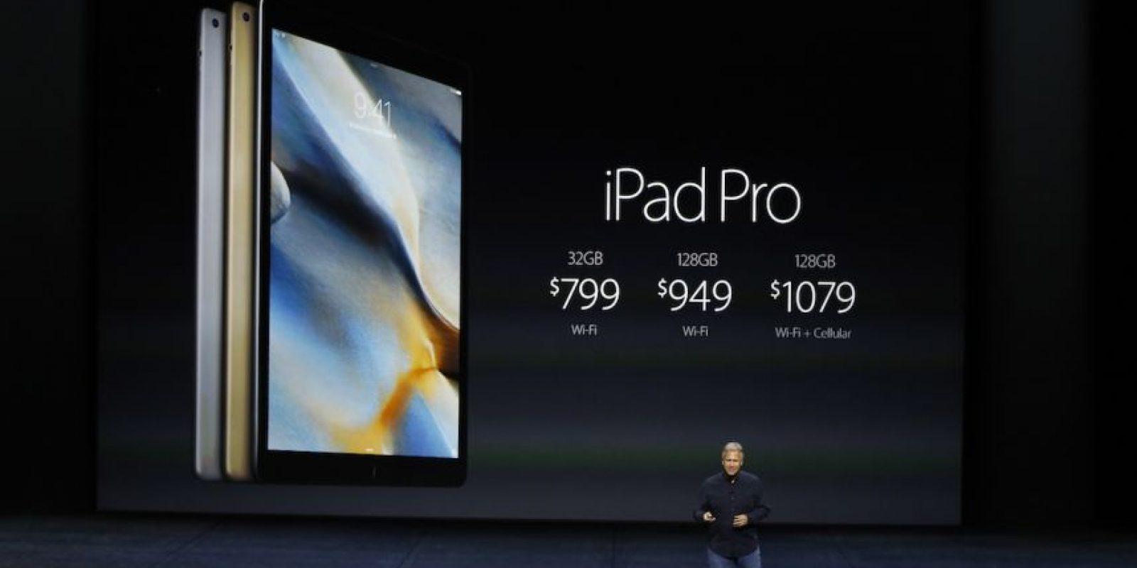 Precio iPad Pro. Foto:Getty Images