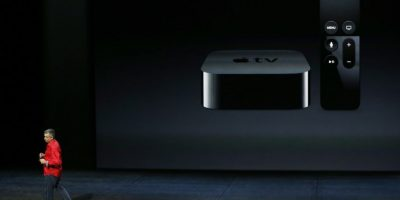 La nueva caja y control de Apple TV. Foto: Getty Images