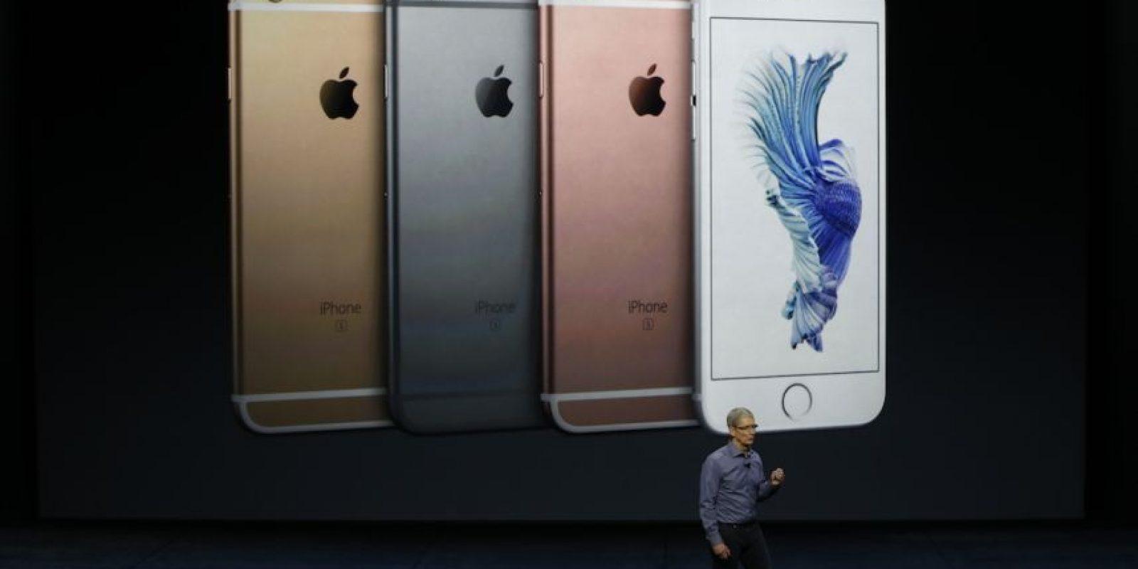 El iPhone 6s y iPhone 6s Plus fueron las estrellas de la presentación. Foto:Getty Images