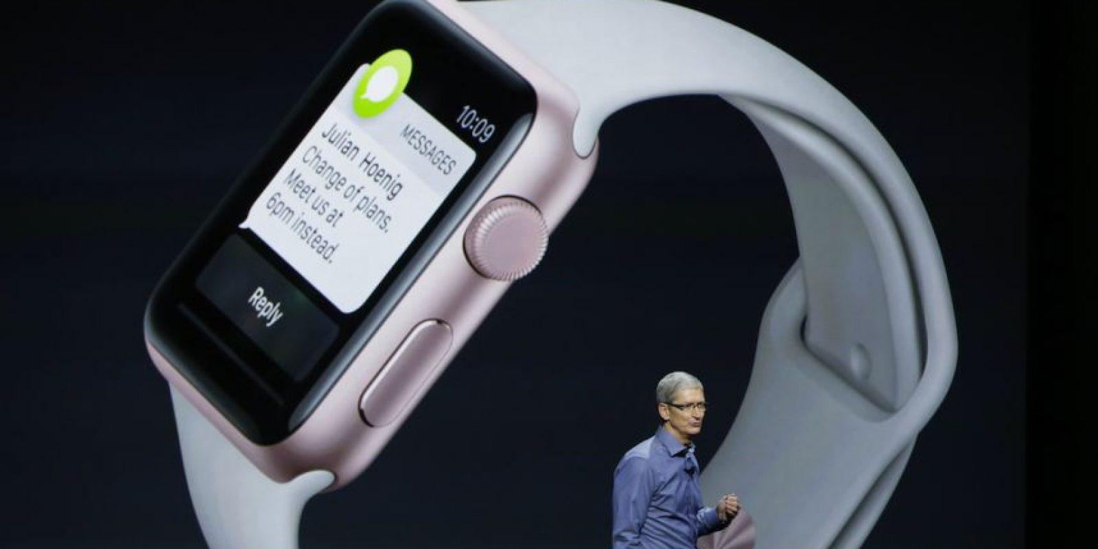 Apple Watch ayudará a monitorear el latido cardiaco de los bebés. Foto:Getty Images