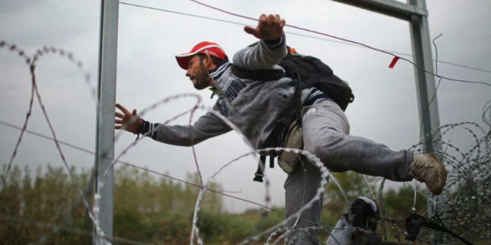 Miles de personas siguen entrando al país Foto:Getty Images