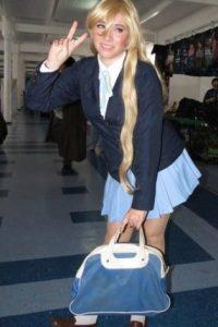 Cosplayers como Liz Sakura… Foto:vía Facebook/Lizz Sakura