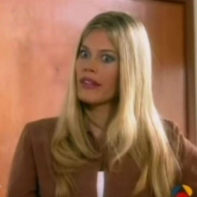 """Lorna Cepeda era """"Patricia Fernández"""" en """"Betty La fea"""" (1999). Foto:vía RCN"""