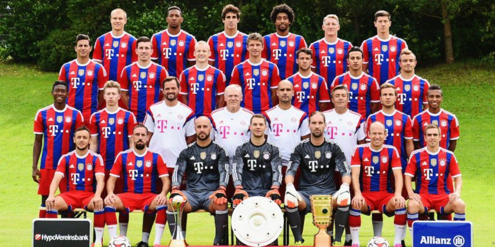 1. Bayern Munich / El club bávaro donó un millón de euros para apoyar los campamentos de refugiados sirios que hay en la ciudad de Munich. Foto:Getty Images