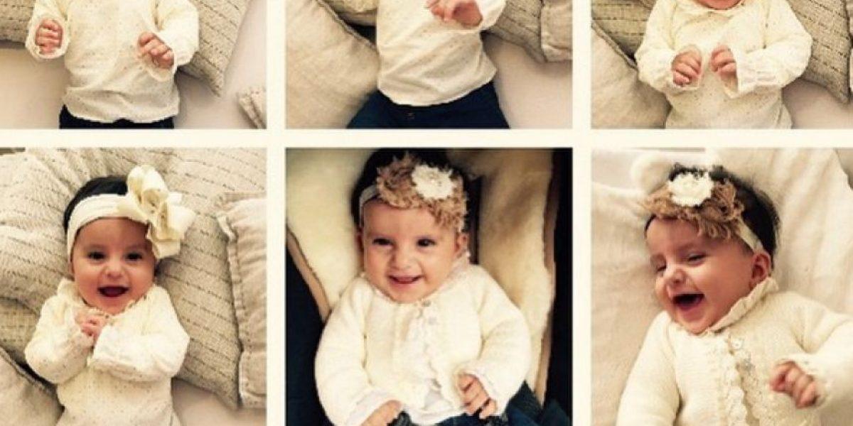Emilia, la encantadora hija de Andrea Serna