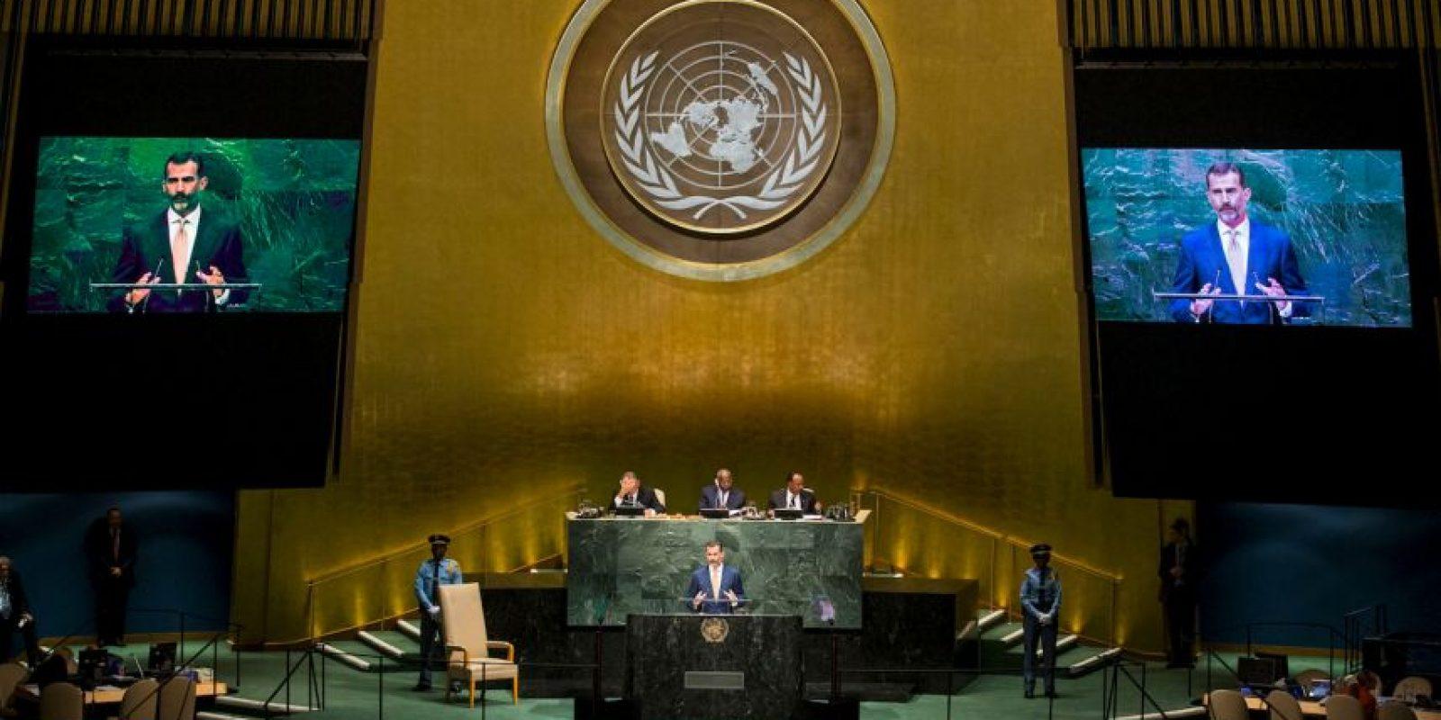 La ONU es la mayor organización internacional existente. Foto:Getty Images