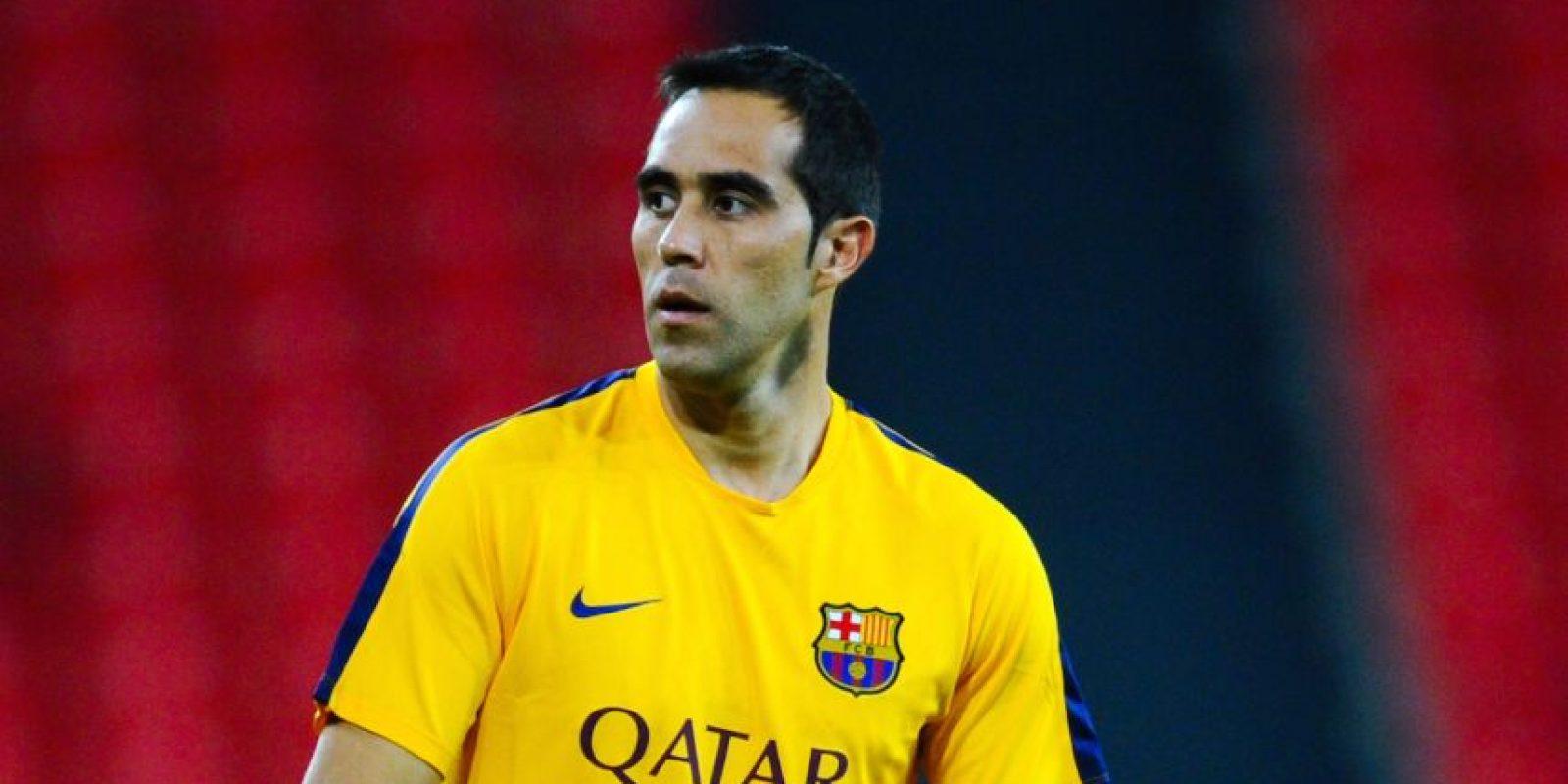 5. Claudio Bravo (Barcelona/Chile) Foto:Getty Images