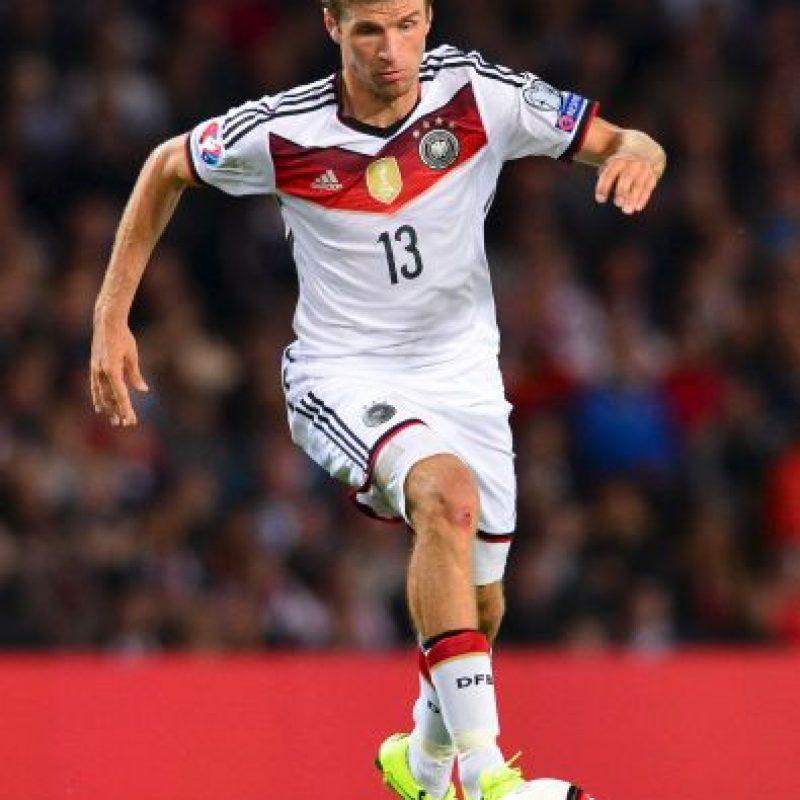El delantero Thomas Müller se tasa en 55 millones de euros, según el portal Transfermarkt. Foto:Getty Images