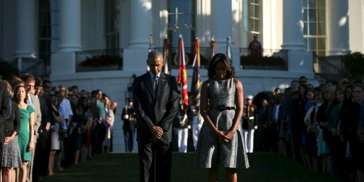 Barack Obama recuerda a los caídos en los atentados del 11 de septiembre