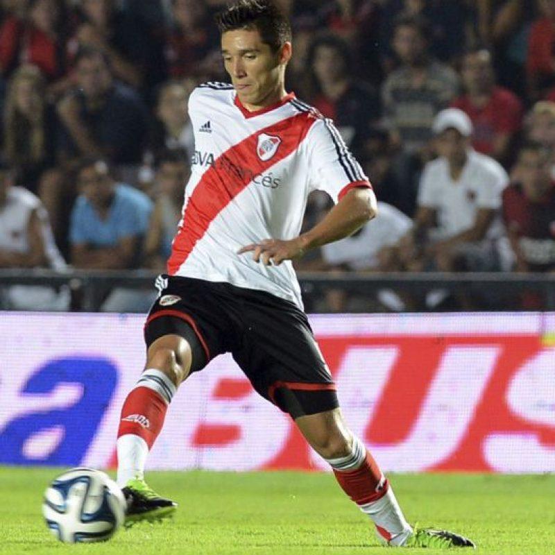 """7. River Plate. Matías Kranevitter es el futbolista más caro de los """"Millonarios""""; tiene un valor de siete millones de euros. Foto:Getty Images"""
