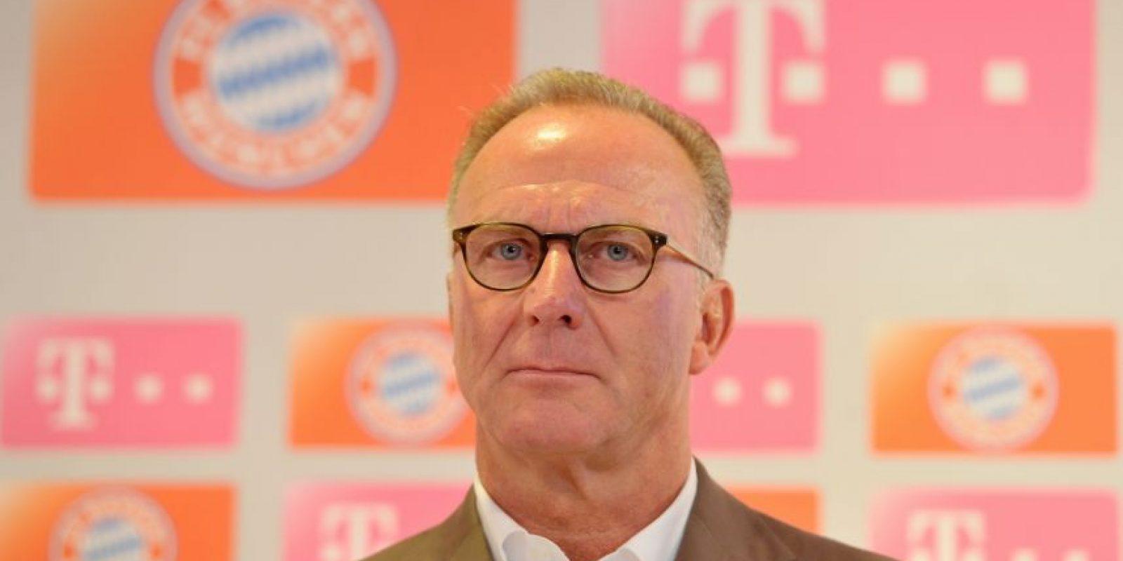 """El Director General de Bayern comentó sobre Van Gaal: """"El problema que él tiene es de actitud. Con una actitud de esas, es necesario ganar siempre. Si pierdes, también pierdes a todos tus amigos"""". Foto:Getty Images"""