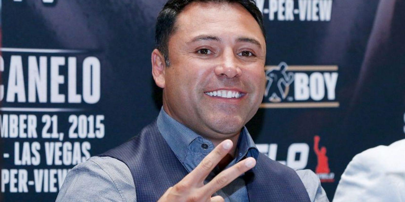 """El promotor y exboxeador atacó a """"Money"""" Foto:Getty Images"""