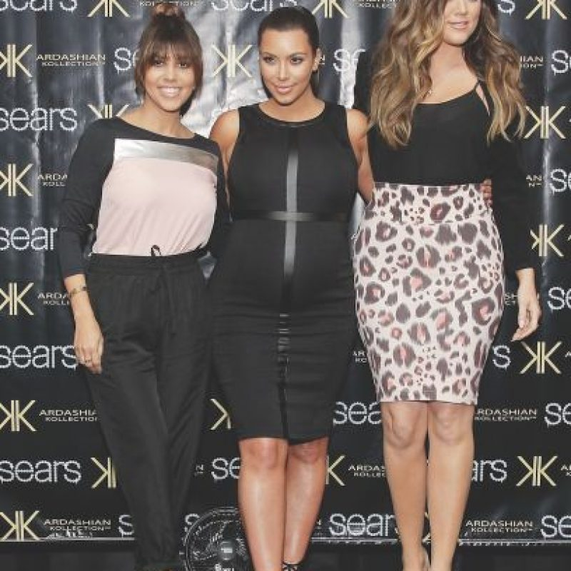 4. Dash; Kardashian Kollection. Diseñadoras. Kim, Kourtney y Khloé Kardashian Foto:Getty Images