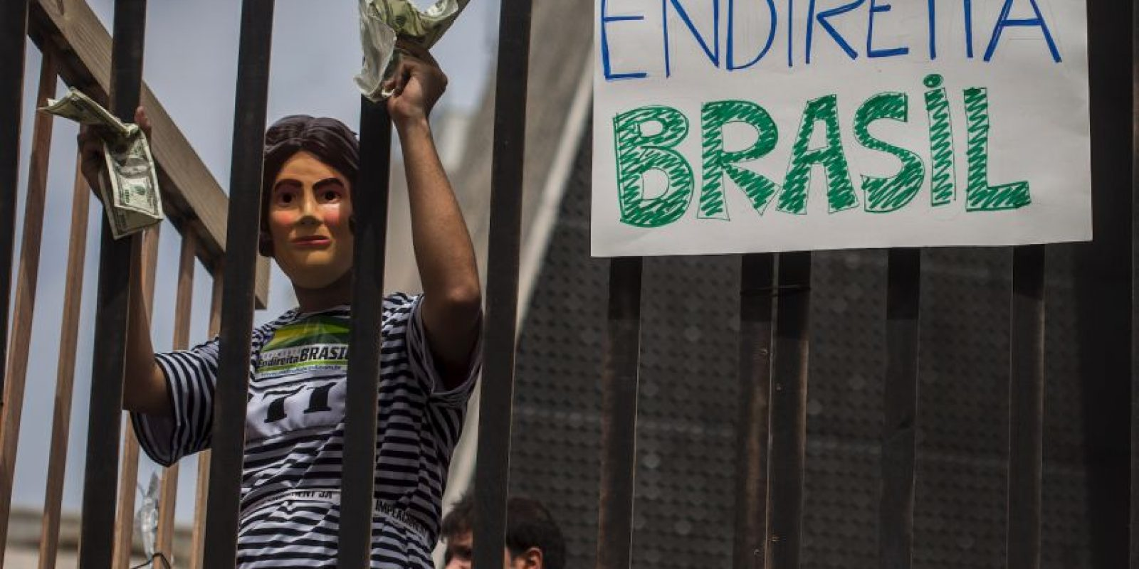 El 17 de agosto de este año fue apresado Néstor Cerveró, exdirector del área internacional de la empresa petrolera Petrobras Foto:Getty Images