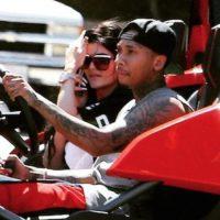 """Kylie y Tyga tendrán que pagar un multa por excederse en el consumo de agua, según informó el """"Hollywood Reporter"""". Foto:The Grosby Group"""