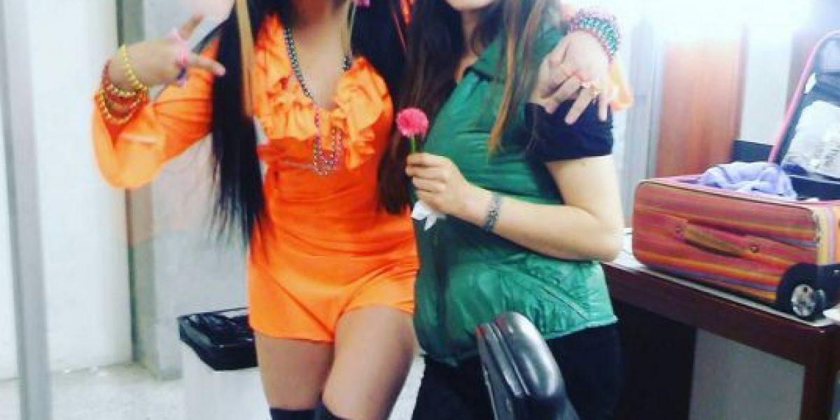Revelan video de Yina Calderón peleando en la entrada de un bar