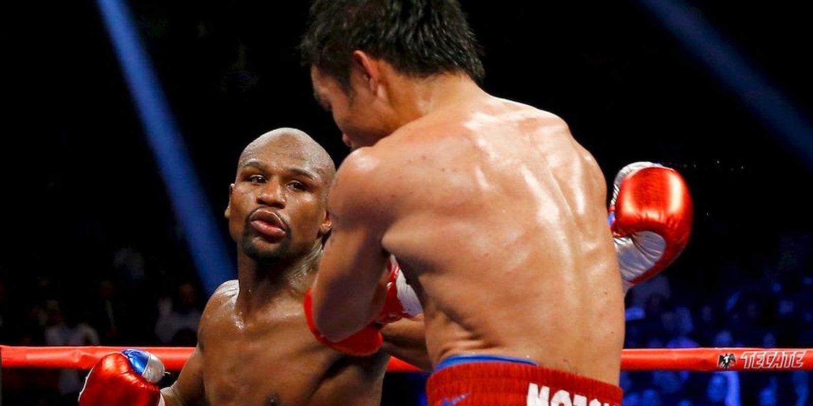 1. Fue acusado de dopaje en su pelea contra Manny Pacquiao Foto:Getty Images