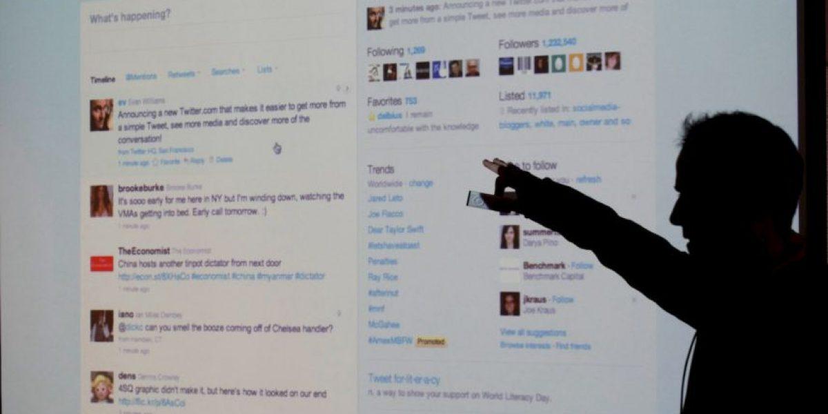 Twitter presentó problemas en su sitio web