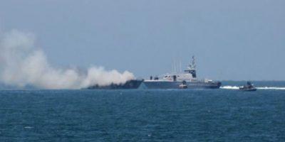 Según información del portavoz del ejército egipcio, el general Mohammed Samir, ningún miembro de la tripulación falleció. Foto:AFP