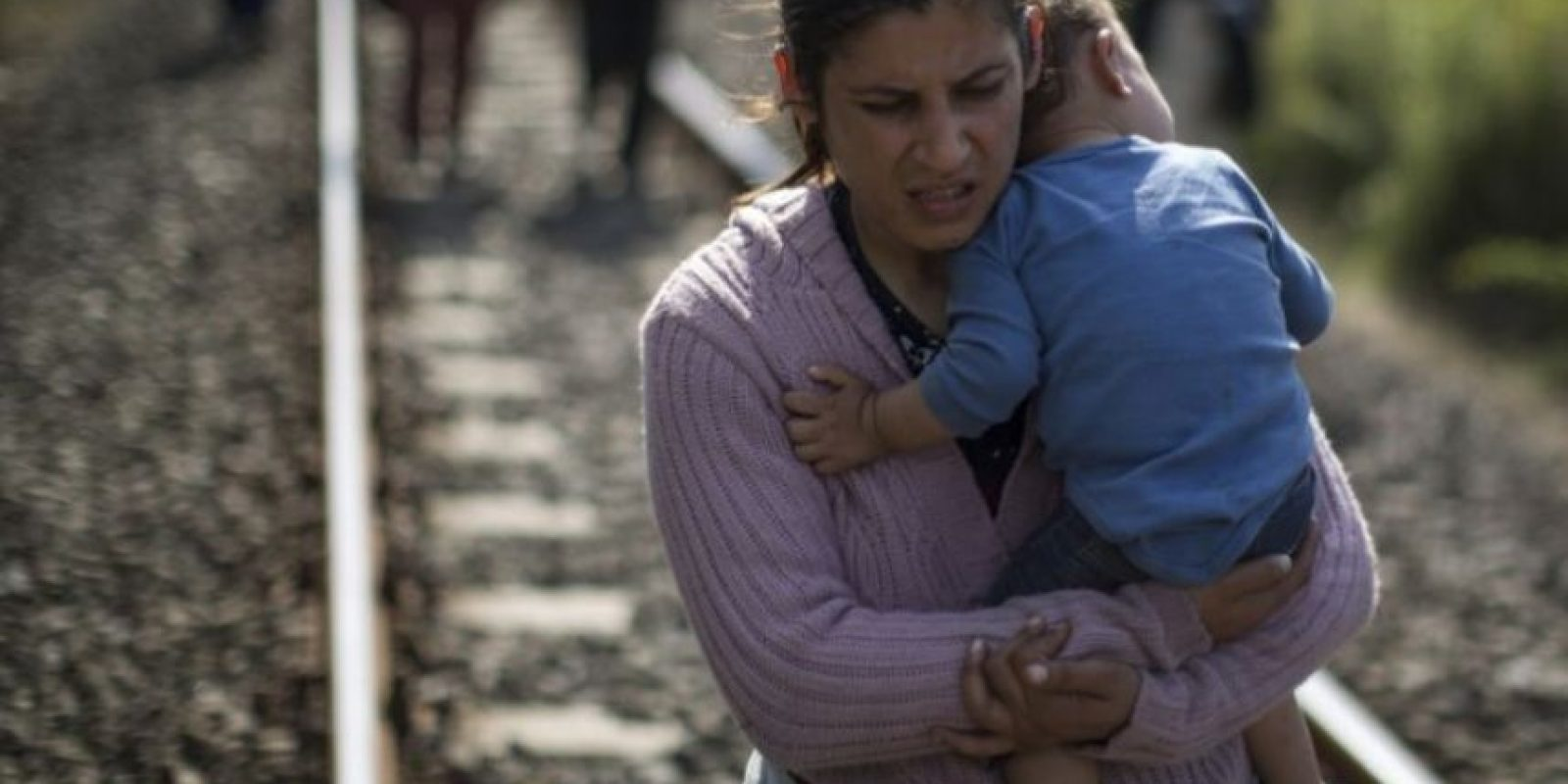 """6. Refugiados: el número de sirios que han buscado refugio en otros países se estima es de más de cuatro millones de personas, según """"BBC"""". Foto:Getty Images"""