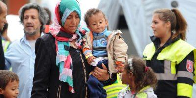 Recientemente miles de migrantes fueron recibidos en Alemania. Foto:AP
