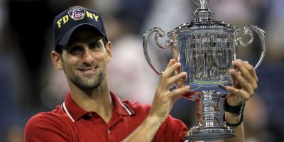 4. Abierto de Estados Unidos (2011). Se impuso a Rafael Nadal 6–2, 6–4, 6–7(3–7), 6–1. Foto:Getty Images