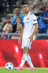 Jugador más valioso: Eran Zahavi (3 millones de euros). Foto:Getty Images