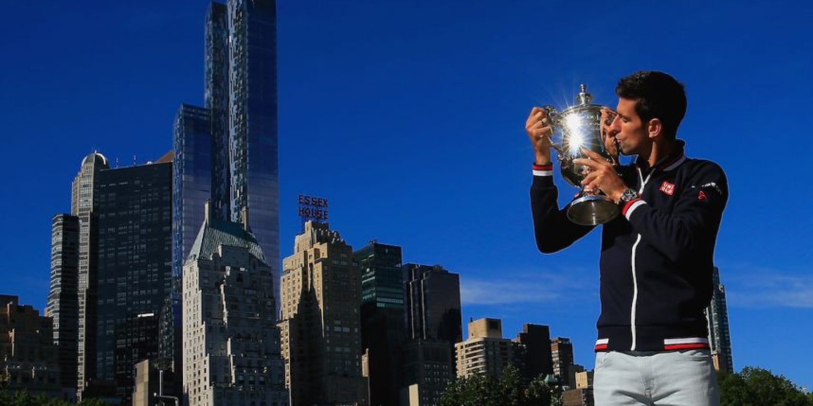 Novak Djokovic es actualmente el mejor tenista del mundo. Foto:Getty Images