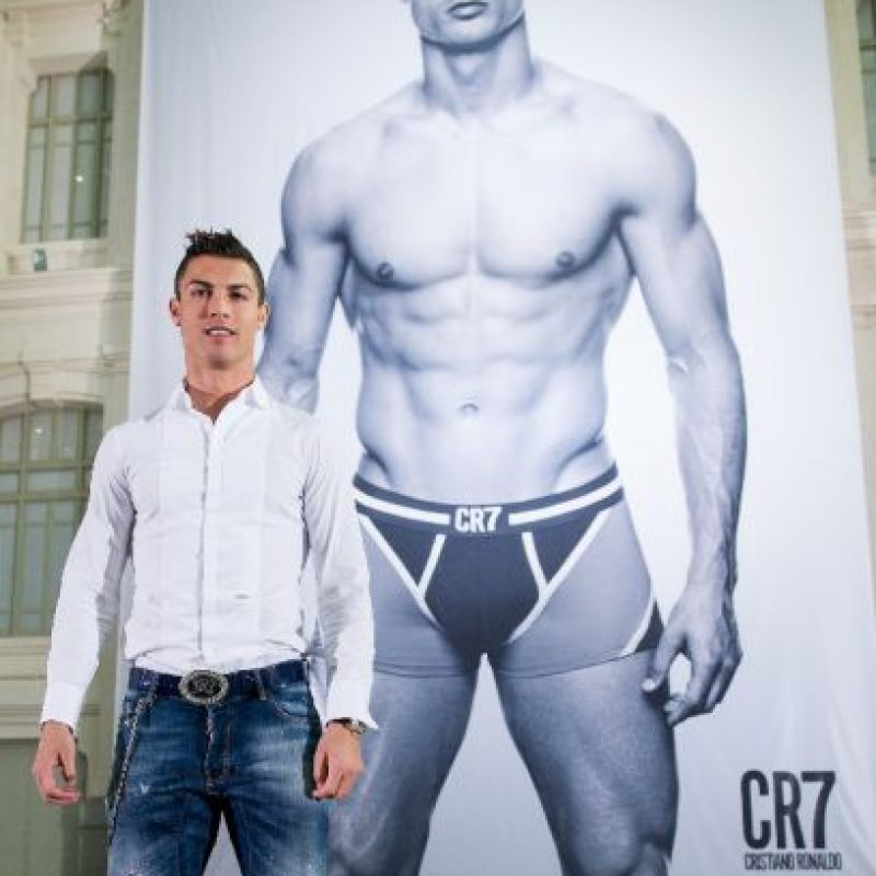 """En 2013 presentó """"CR7 Underwear"""". Esta es su propia marca de ropa interior para caballero. Foto:Getty Images"""