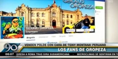En redes sociales existen páginas de Facebook dedicadas a la figura de Oropeza Foto:Vía facebook.com/GeraldOropezaOficial