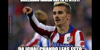 El Atlético de Madrid también tuvo una actuación destacada. Foto:memedeportes.com