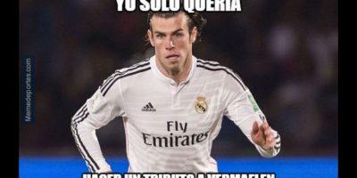 Gareth Bale fue noticia porque se lesionó. Foto:memedeportes.com